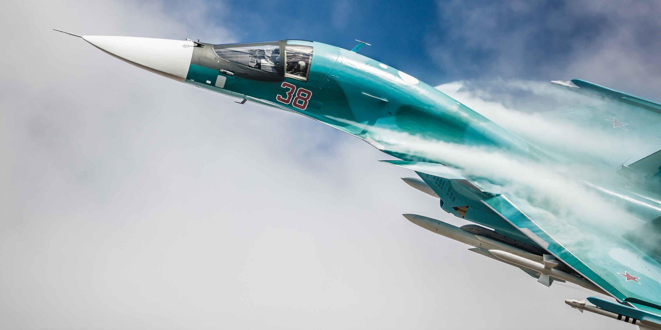 Airplane Sukhoi 34
