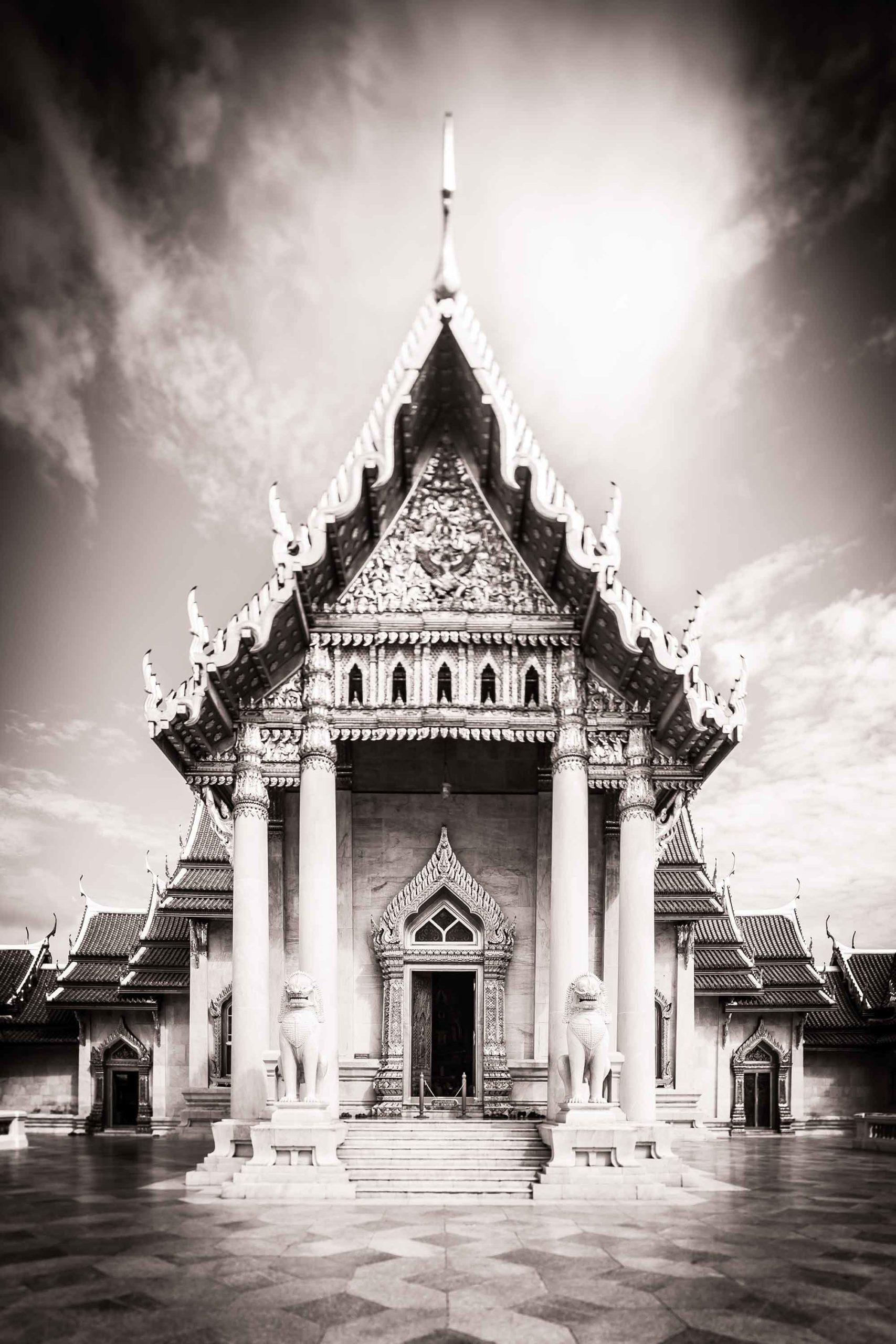 Architecture Thailand Wat Ben