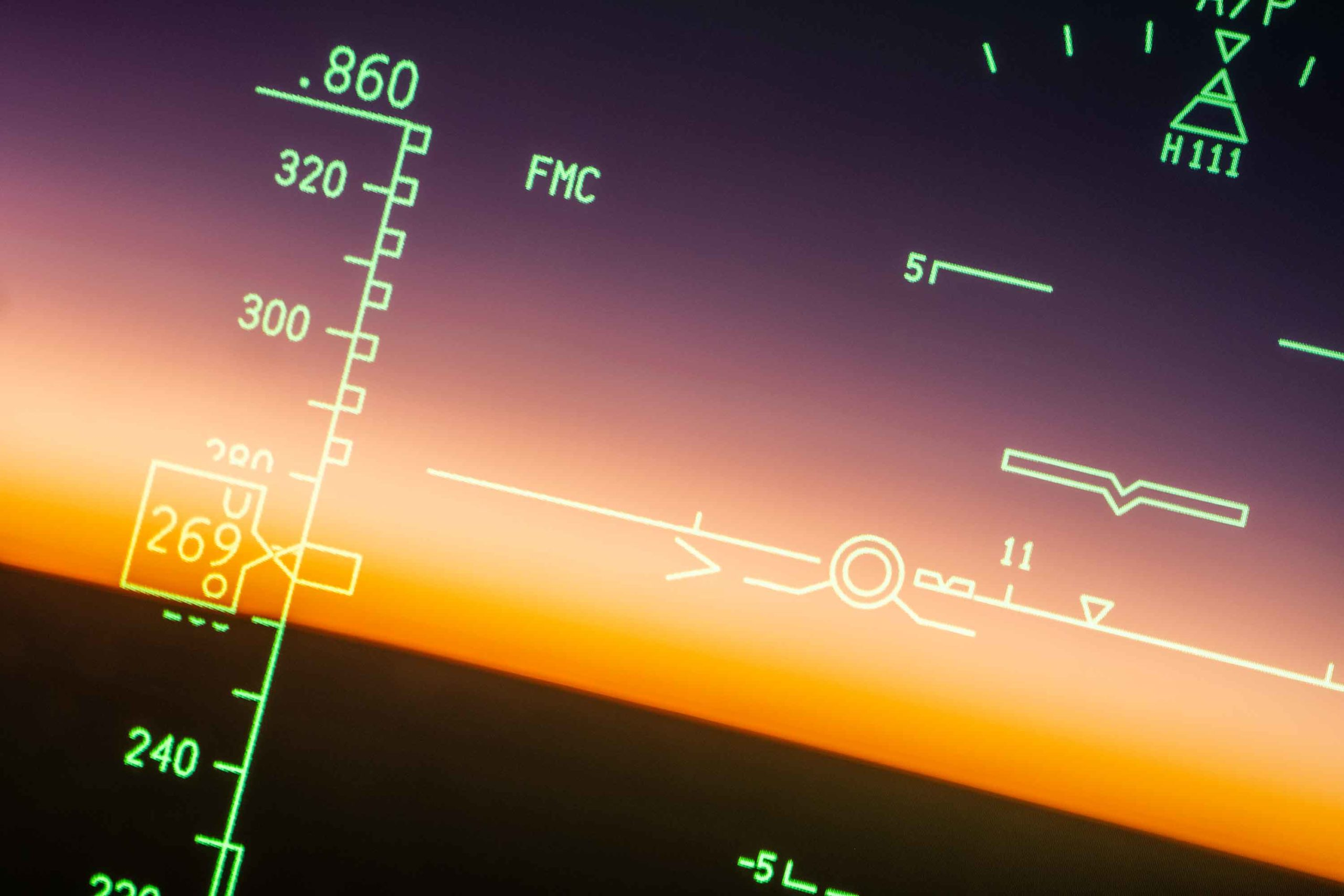 Boeing 787 Dreamliner HUD