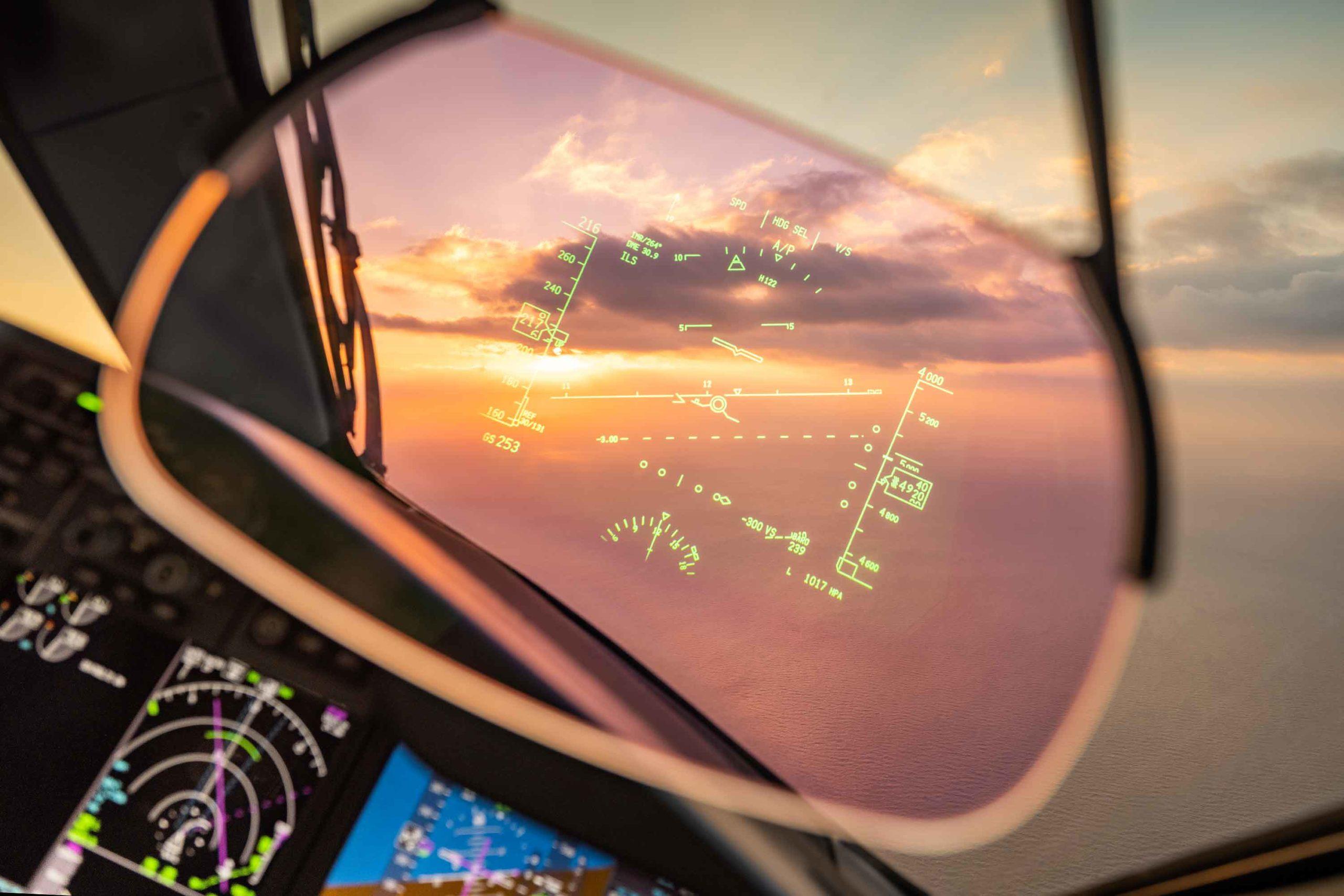 Boeing 787 HUD