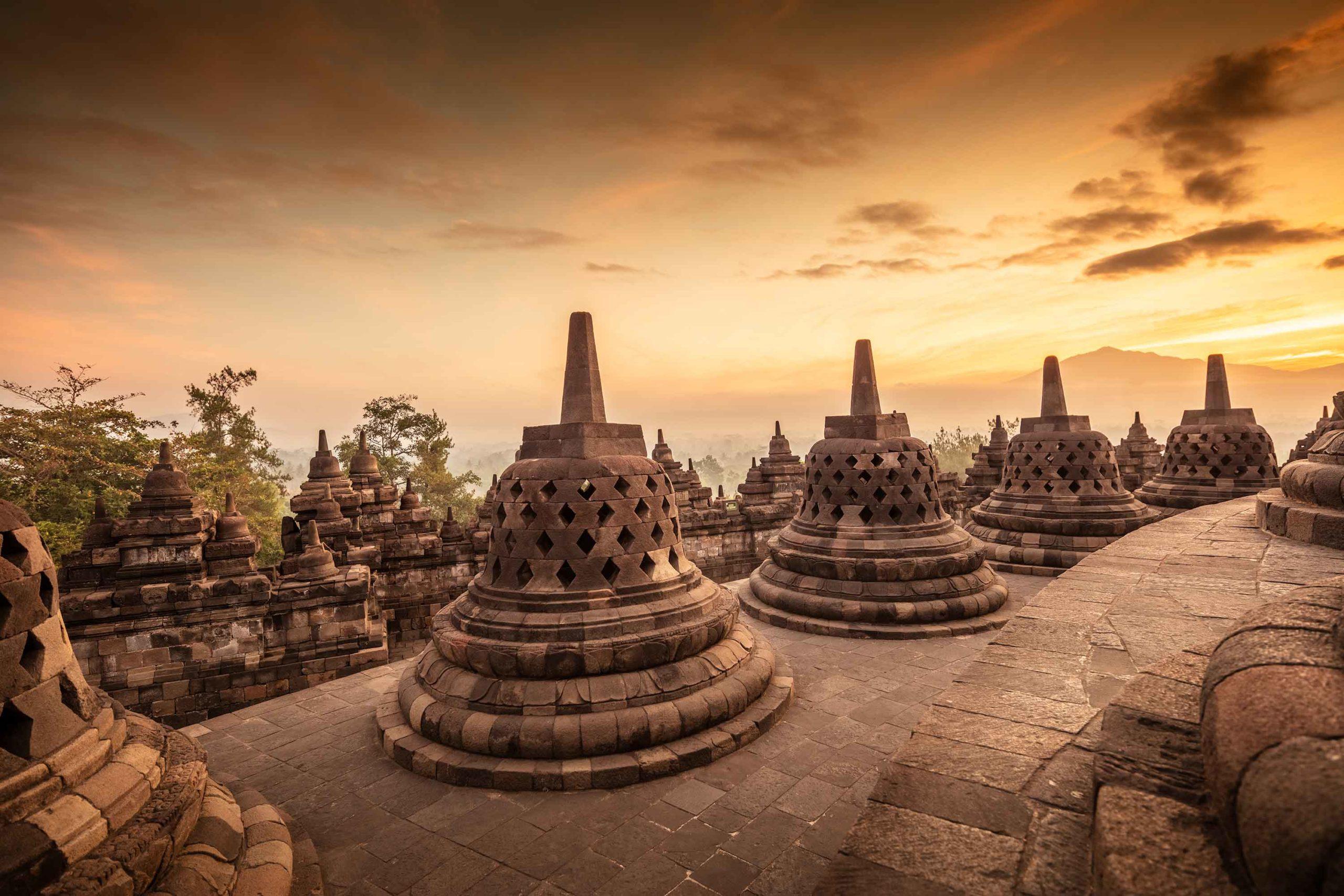 Borobudur Indonesia Buddhist Temple