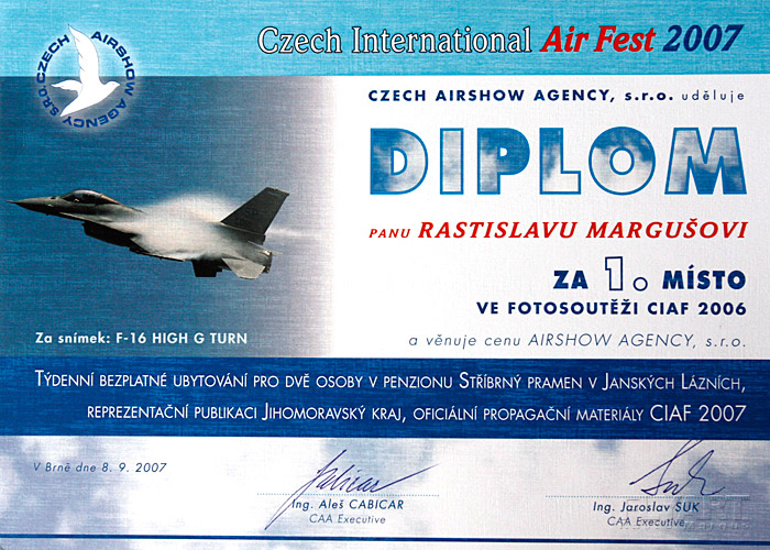 Czech International Air Fest Photo Contest 2006