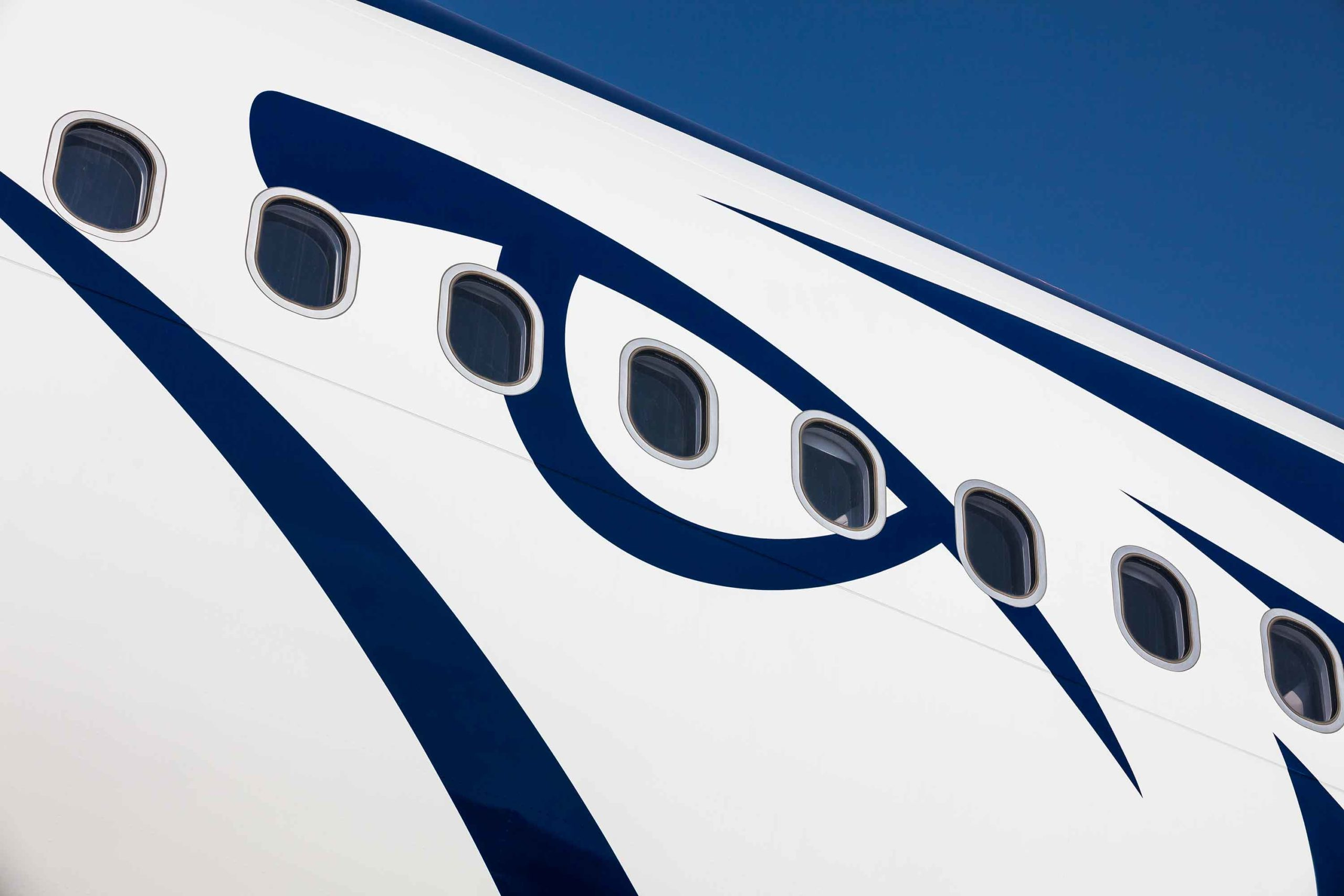 Egypt Air Airbus 330 Dubai Airshow