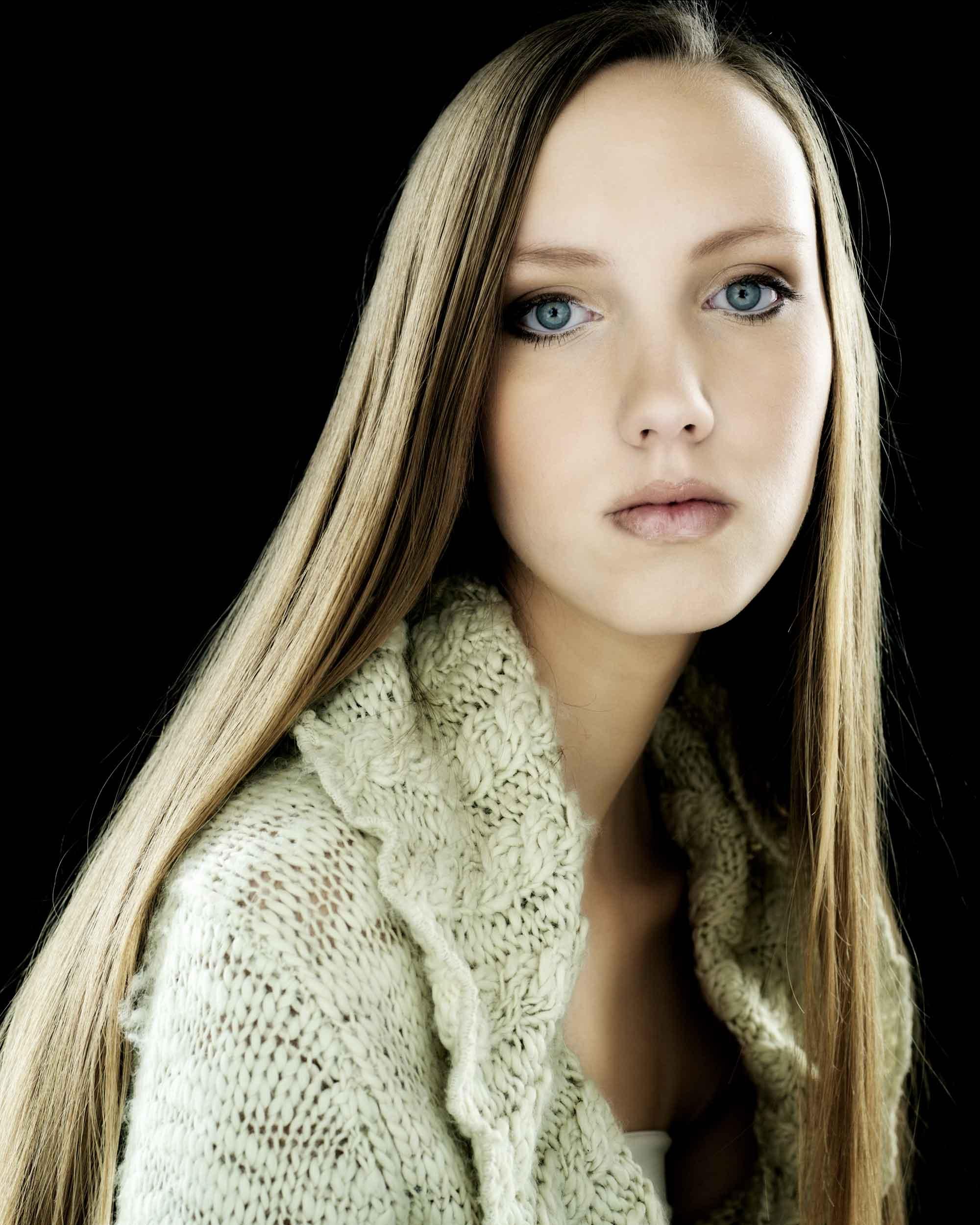 Fashion Female Model Portrait
