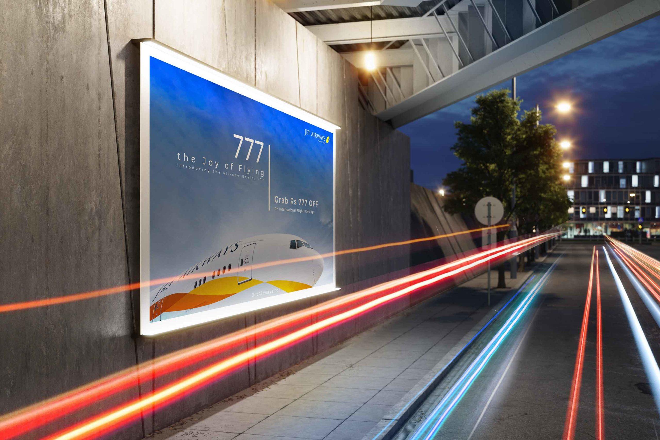 Jet Airways Advertisement