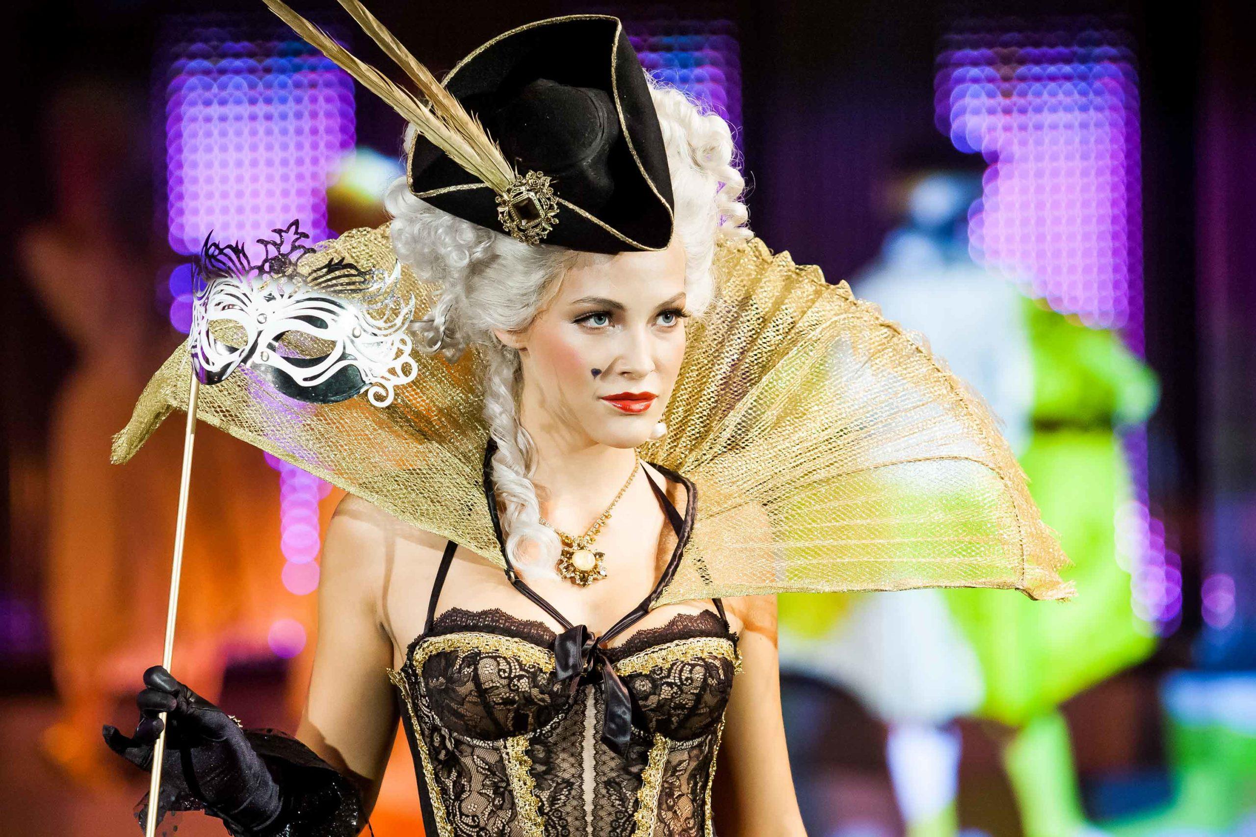 Katerina Sokolova Top Secret Fashion Show