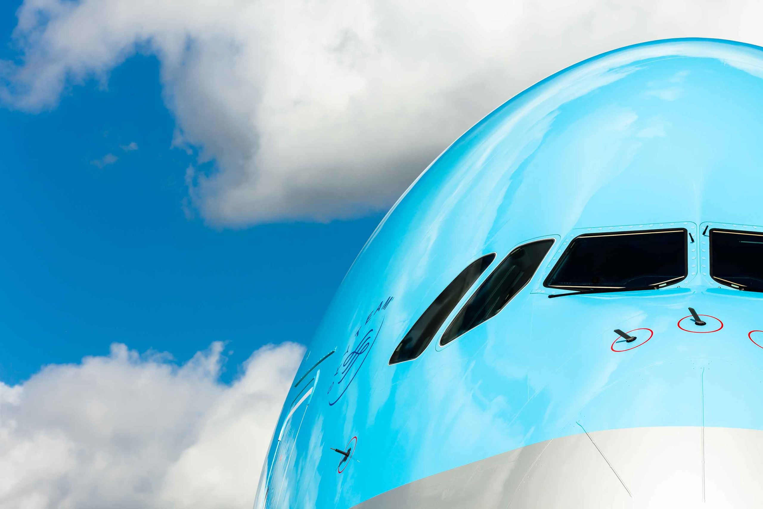 Korean Air Airbus 380 Paris Airshow