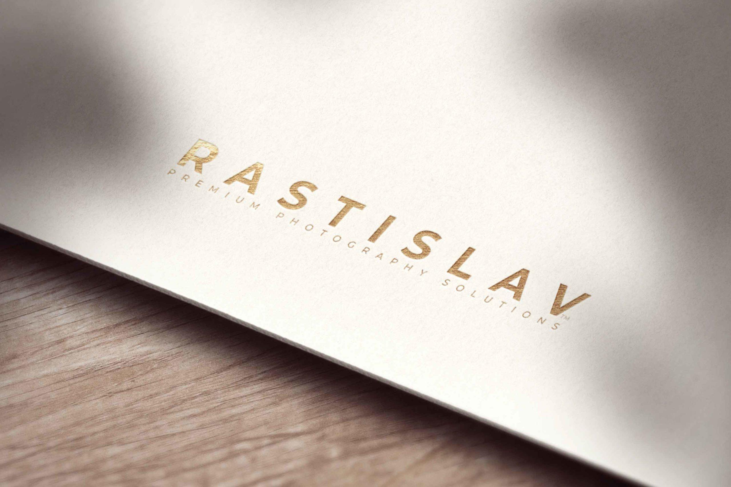 RASTISLAV – Premium Photography Solutions Logo