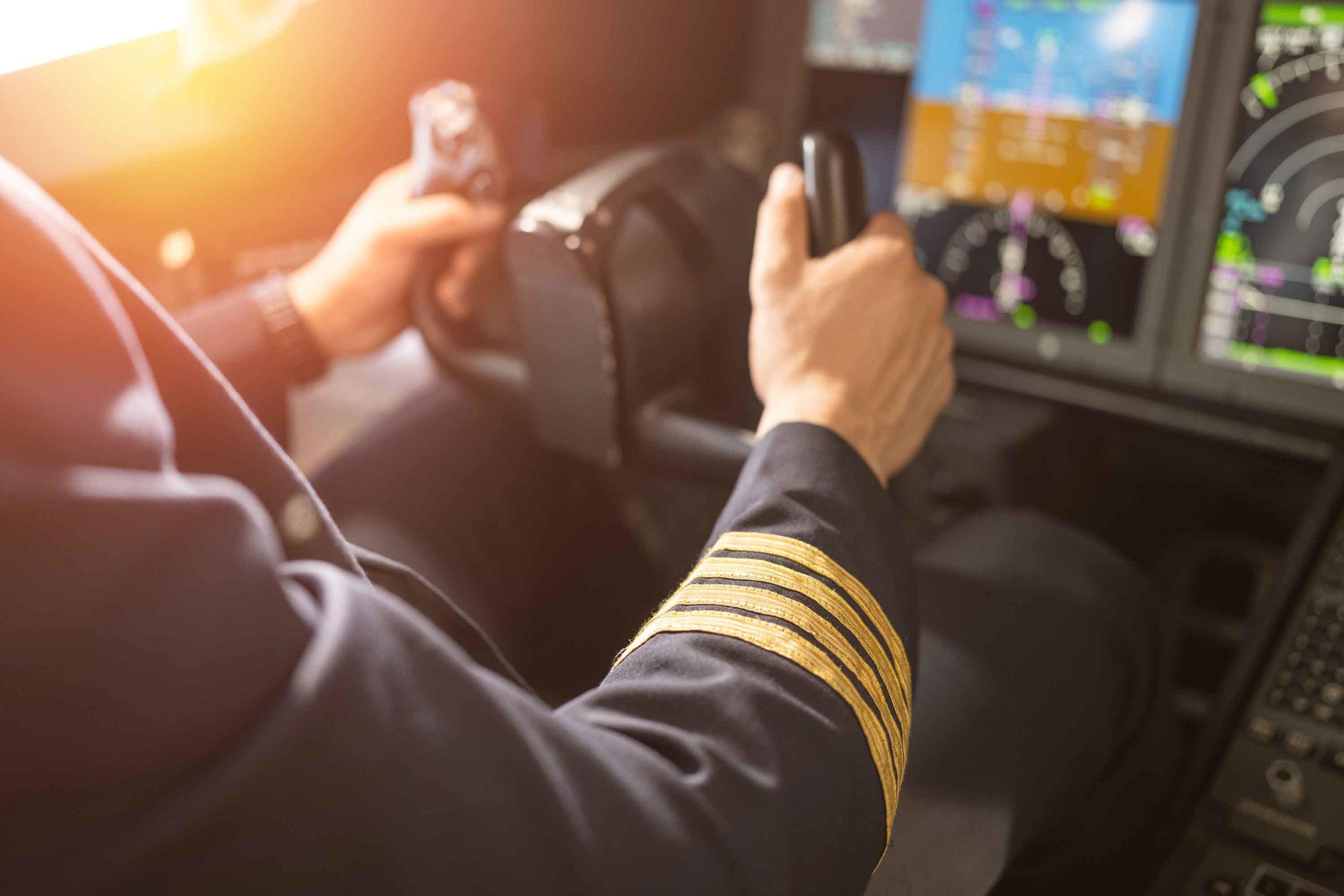 Oman Air Boeing 787 Dreamliner Cockpit