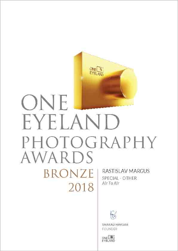 OneEyeLand Awards 2018