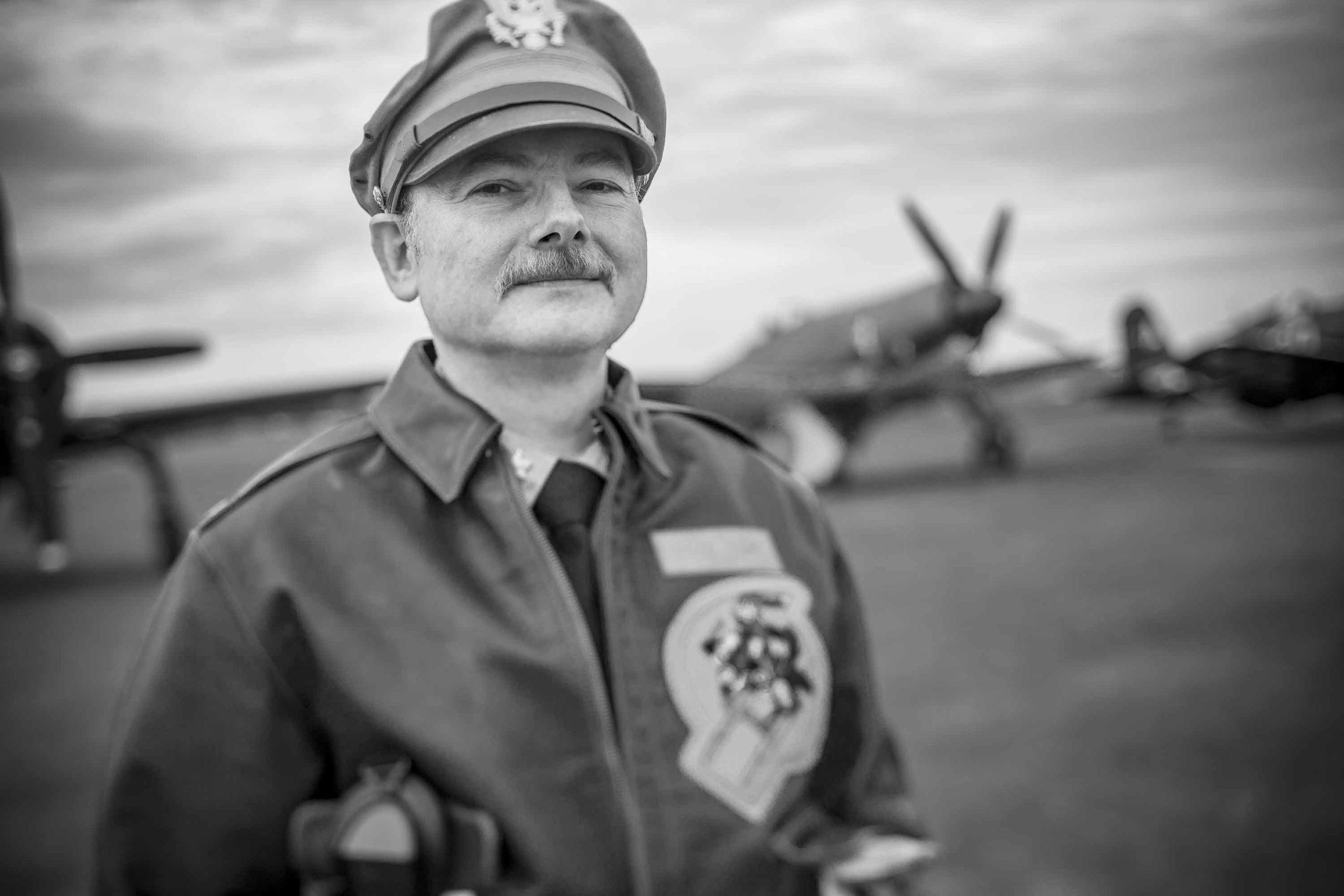 Pilot Portrait Duxford Airshow