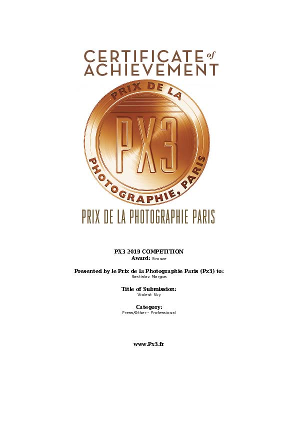 PX3 Award 2019