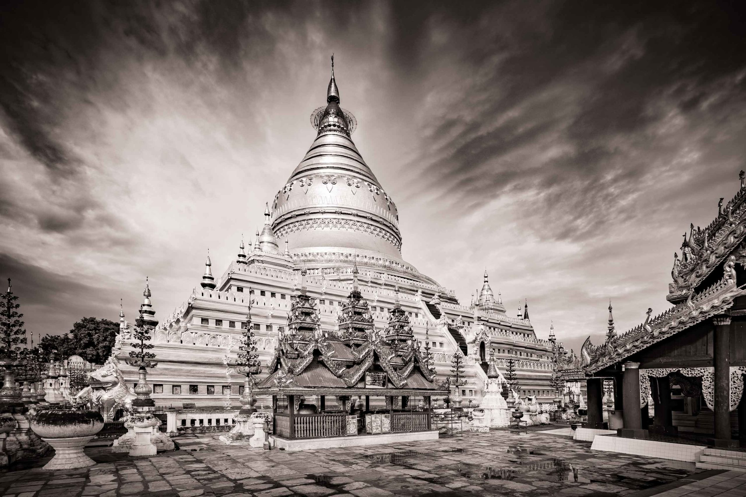 Shwezigon Pagoda Myanmar Burma