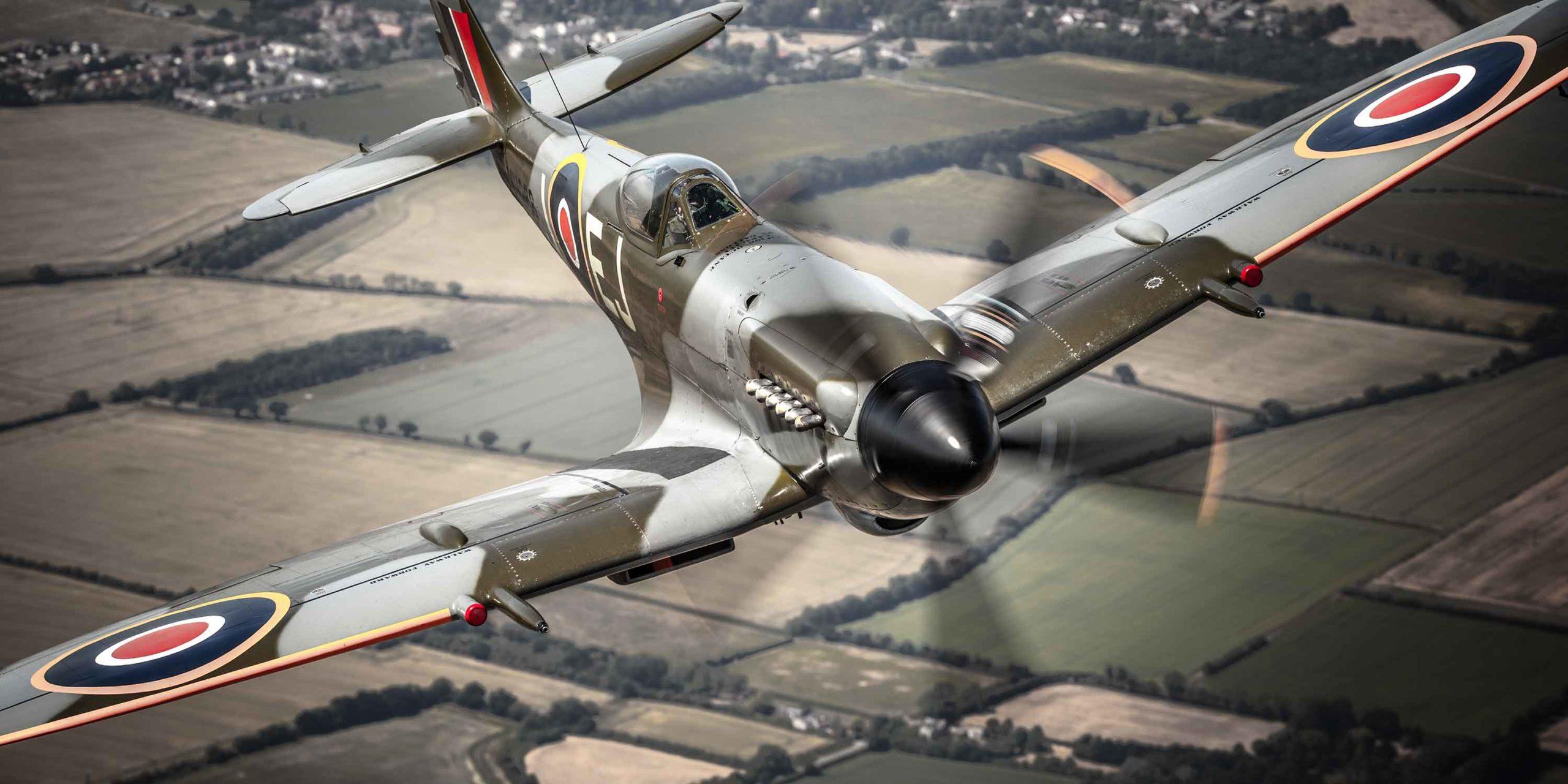 Spitfire Duxford Airshow